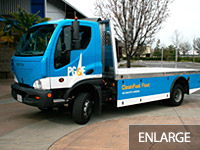 All-Electric Flat Bed Truck