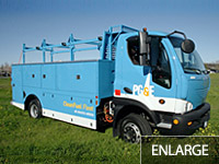 All-Electric Service Body Truck